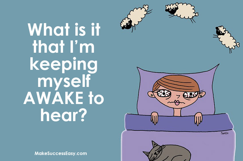 Problem of snoring or insomnia